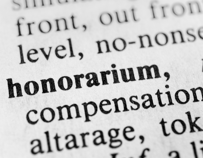 The Honorarium and the Christian Artist